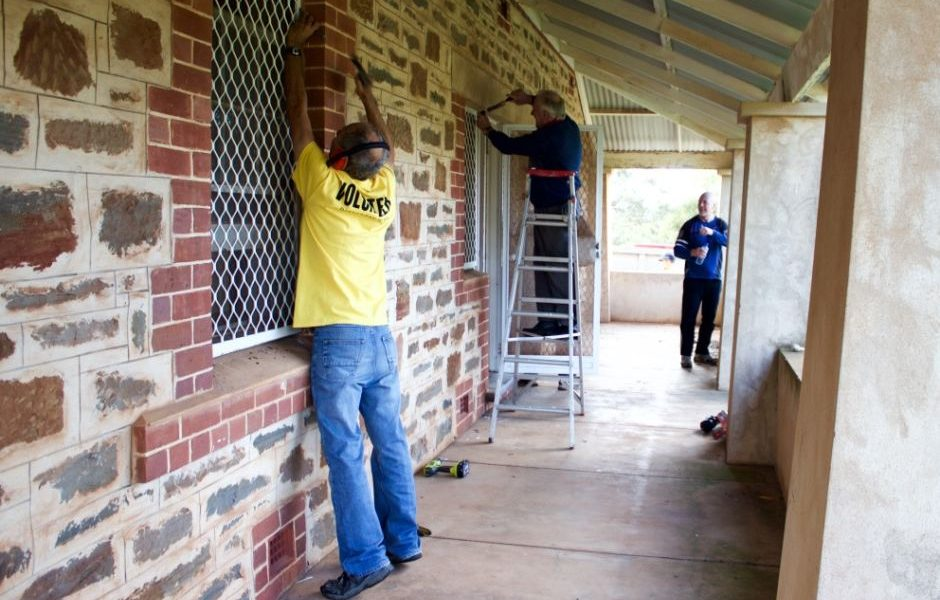 Renovations at our Monarto Property