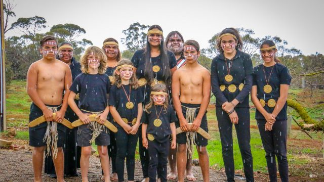 Rritjarukar (Willy Wagtails) – Ngarrindjeri Cultural Dance – House of Hope Open Day – 13th June 2018