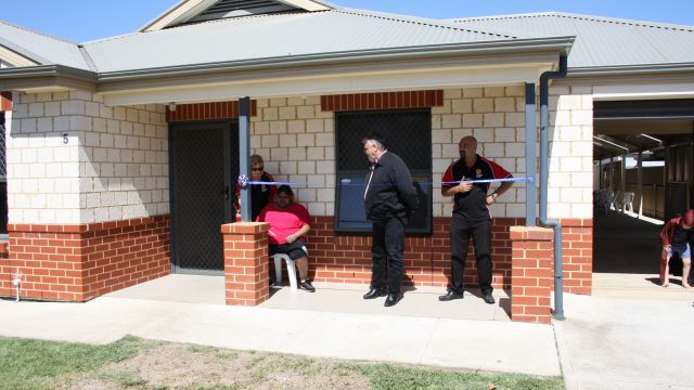 Arkaringa House Opening Day